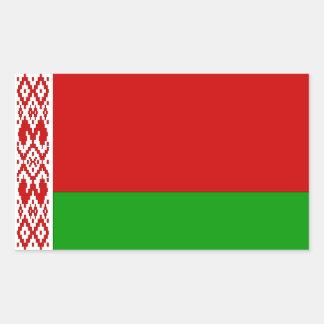 Belarus Flag Rectangular Sticker