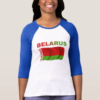 Belarus Flag (Wavy) T-Shirt