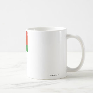 Belarus Flag with Name in Belarusian Coffee Mug