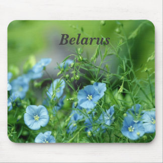 Belarus Flax Mouse Pad