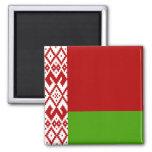 Belarus High quality Flag 2 Inch Square Magnet