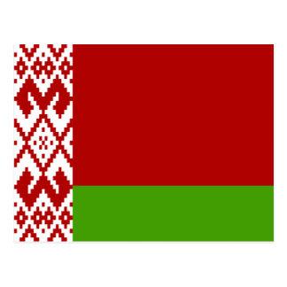 Belarus High quality Flag Post Cards