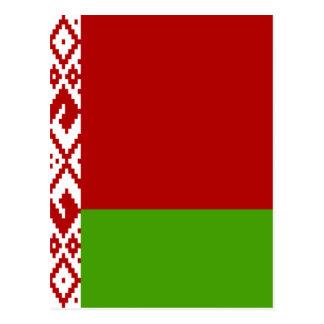 Belarus High quality Flag Postcards