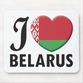Belarus Love Mouse Pad
