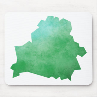 Belarus Map Mouse Pad