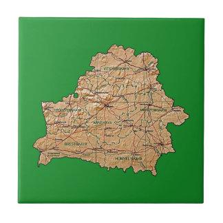 Belarus Map Tile