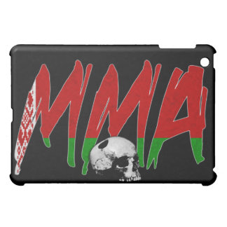 Belarus MMA Skull Black iPad Case
