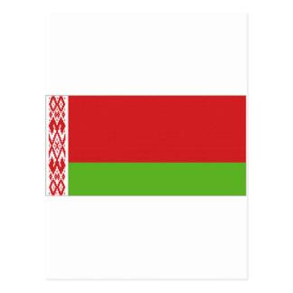 Belarus National  Flag Postcard