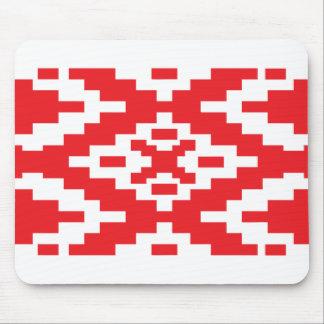 Belarus Pattern, Belarus flag Mouse Pads