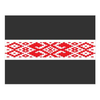 Belarus pattern, Belarus Post Cards