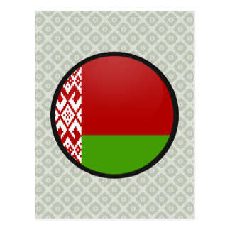 Belarus quality Flag Circle Post Cards