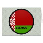 Belarus Roundel quality Flag Cards