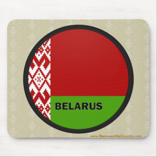 Belarus Roundel quality Flag Mouse Pad