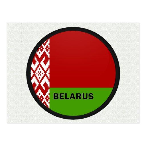 Belarus Roundel quality Flag Post Cards