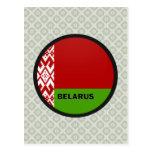 Belarus Roundel quality Flag Postcard