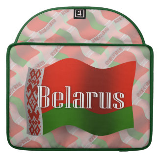 Belarus Waving Flag Sleeve For MacBooks
