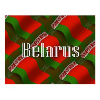 Belarus Waving Flag Postcard