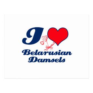 Belarusian design postcard