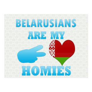 Belarusians are my Homies Postcard