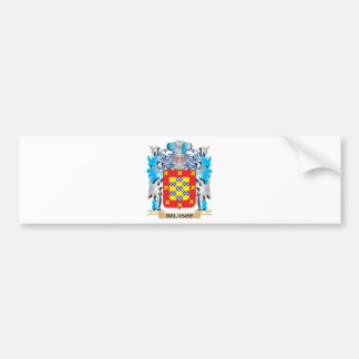 Belasco Coat of Arms Bumper Sticker