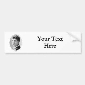 Belasco ~ David / Playwright Theatrical Producer Bumper Sticker