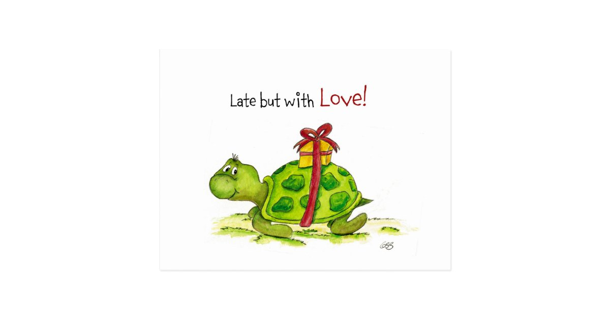 Belated Birthday Turtle