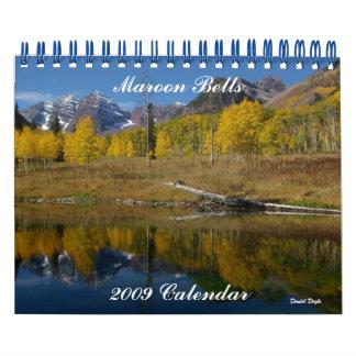 Belces marrón, calendario 2009
