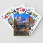 Belces marrón cartas de juego