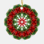 Belces rojas ornaments para arbol de navidad