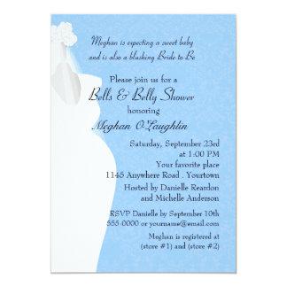 """Belces y bebé del Belly y ducha nupcial Invitación 5"""" X 7"""""""