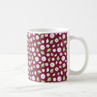 Belces y menta taza de café