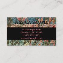 Belcher Mosaic Glass Koi Fishy Business Card