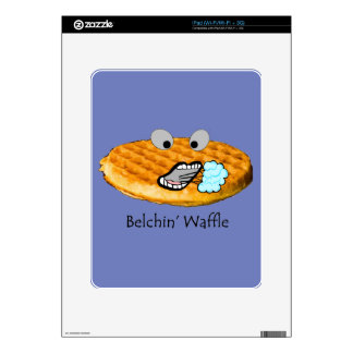Belchin' Waffle Decals For The iPad