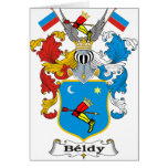 Beldy Family Hungarian Coat of Arms Cards