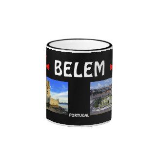 Belem*, taza panorámica de Portugal/Caneca de Bele