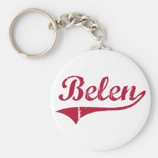 Belen New Mexico Classic Design Keychain