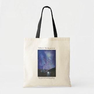 Belén - tote ilustrado personalizado bolsa lienzo