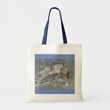 Beach Themed Belenos is stretched out tote bag