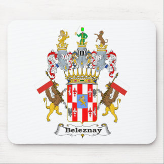 Beleznay Family Hungarian Coat of Arms Mouse Pad