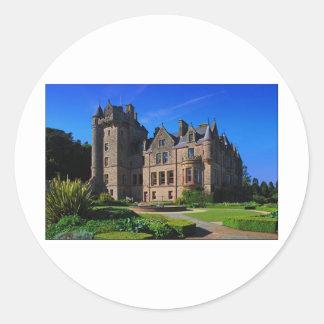 Belfast Castle,  Northern Ireland Classic Round Sticker