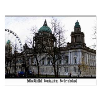 Belfast City Hall Post Card
