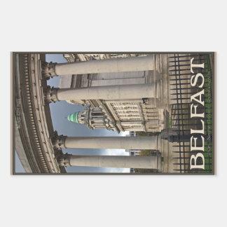 Belfast City Hall Rectangular Sticker