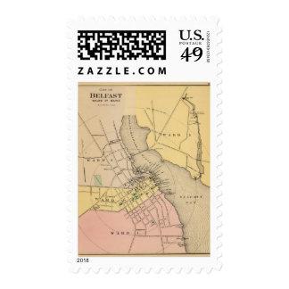 Belfast, Maine Postage