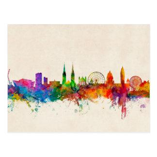 Belfast Northern Ireland Skyline Postcard