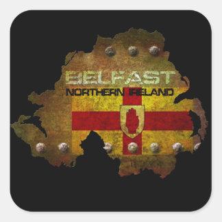 Belfast Northern Ireland Square Sticker