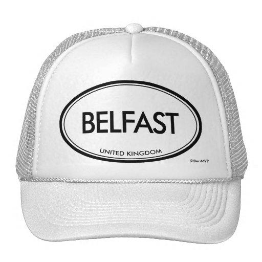 Belfast, United Kingdom Mesh Hat