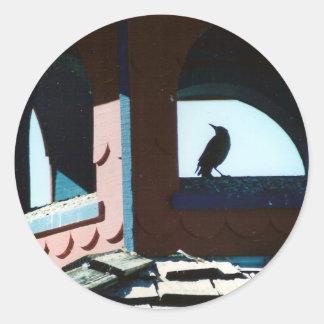 Belfry Bird Classic Round Sticker