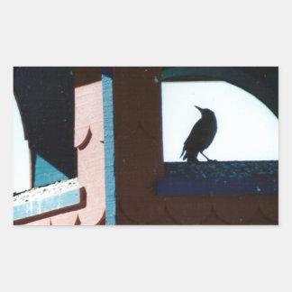 Belfry Bird Rectangular Sticker
