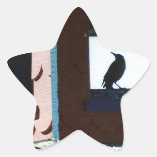 Belfry Bird Star Sticker