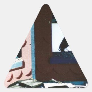 Belfry Bird Triangle Sticker